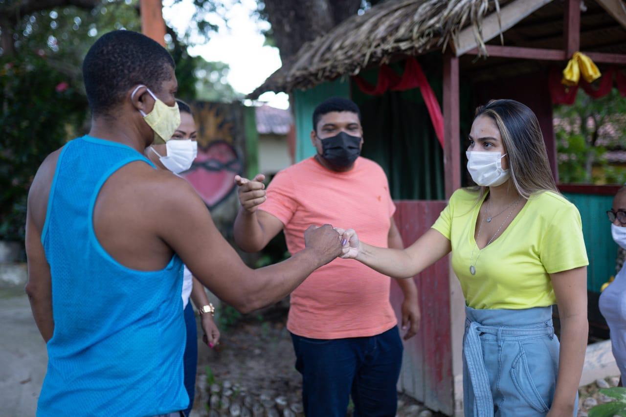 Ação Solidária em Pinheiro, com a vice prefeita Ana Paula Lobato em destaque aqui na Portfólio Vip
