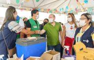 Ana Paula visita Arraial da Vacinação e comemora avanço na imunização em Pinheiro. Em destaque aqui na Portfólio Vip