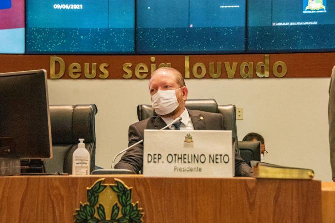 Othelino destaca inauguração da obra de ampliação do Hospital de Grajaú