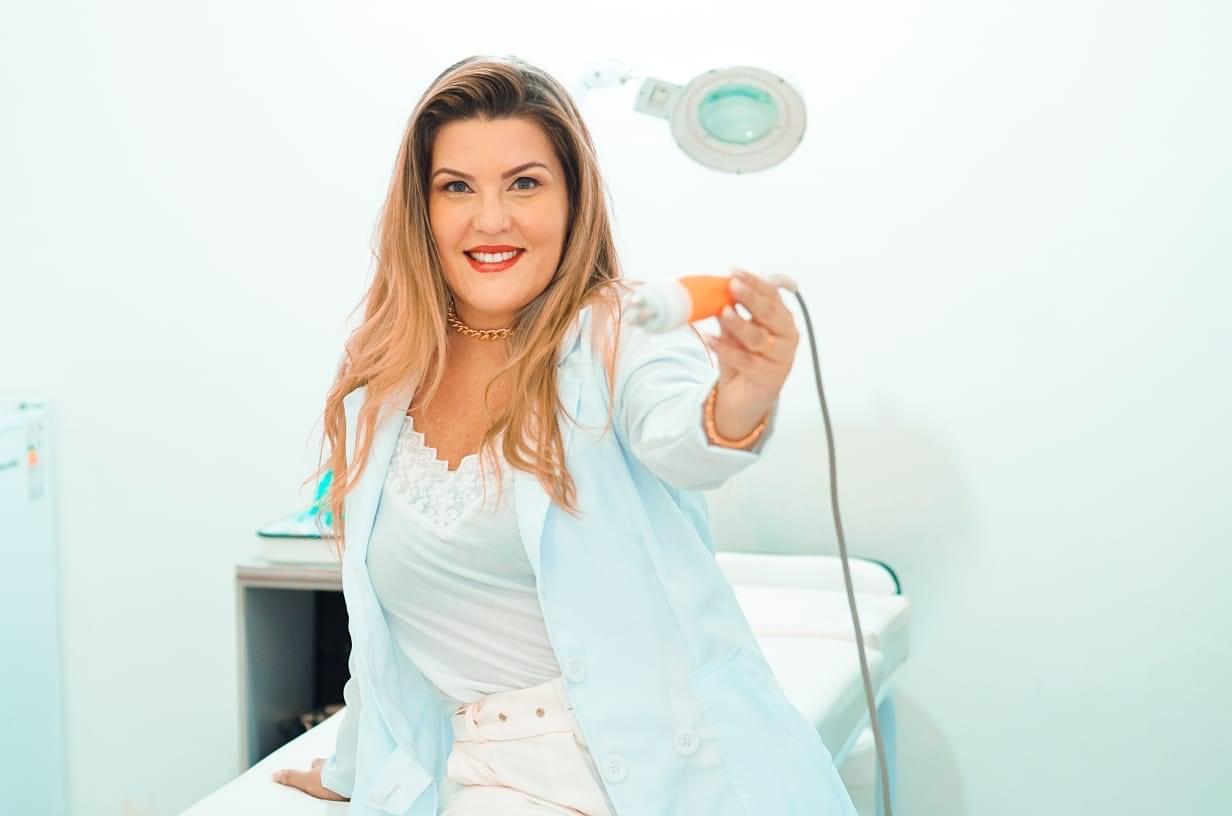 Silvia Miranda fala sobre o seu sucesso na área da beleza. Em destaque aqui na Portfólio Vip