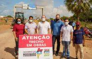 Othelino vistoria obras em Paulino Neves e anuncia nova etapa do Mais Asfalto no município. Em destaque aqui na Portfólio Vip
