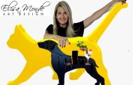 A artista plásticaElisaMonde é destaque aqui na Portfólio Vip